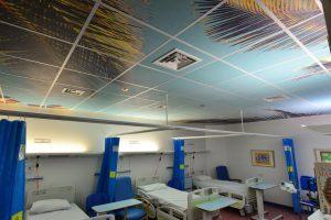 Geprint plafond