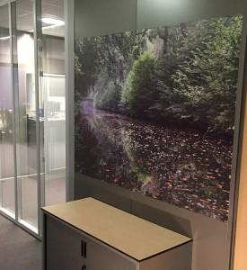 wanddecoratie voor kantoor of winkel rcg groningen